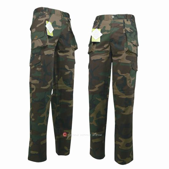 Pantaloni uomo militare follow me calzoni MULTITASCE mimetico Cargo caccia  pesca 10ddb9a38813