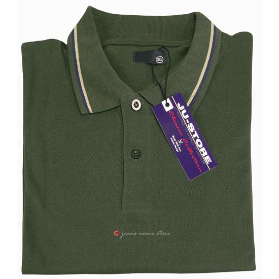 MAGLIA Polo da Uomo Colletto Polo T Shirt Polo a maniche corte estate Uomo Camicia Tg s-3xl